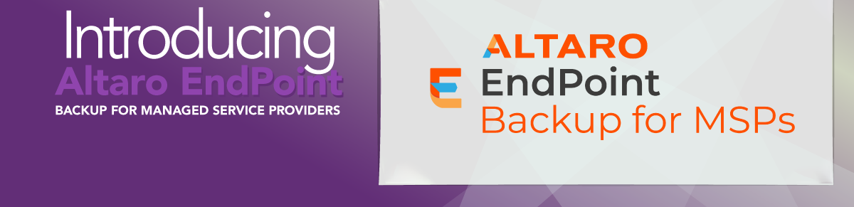 Altaro Endpoint Backup for MSPs